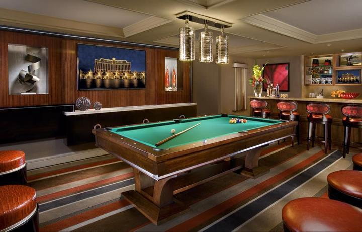 Bellagio - Executive Parlor Suite - Billiards