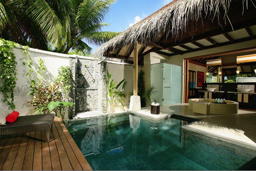 luxury villa maldives beach - photo #17