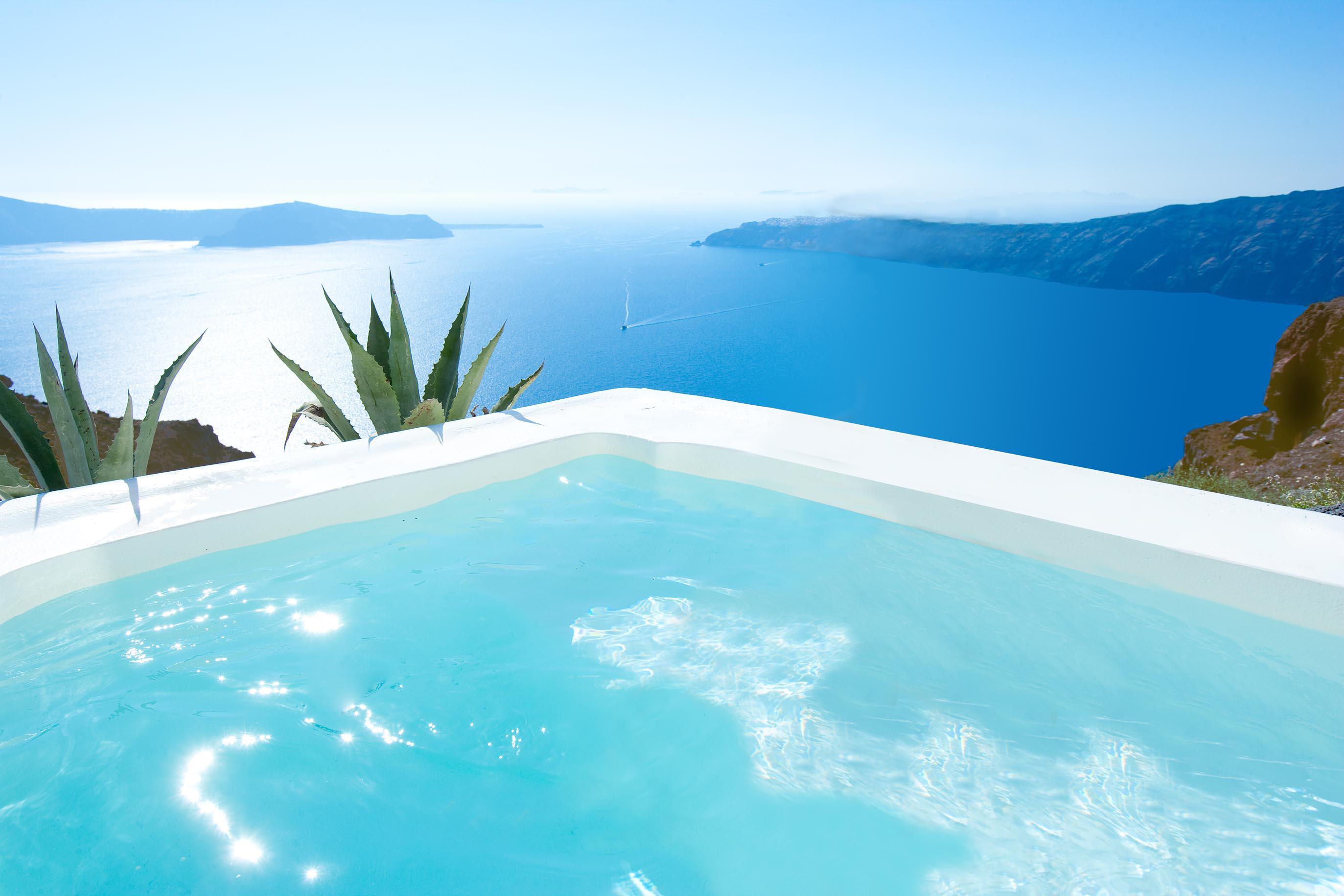 Grace Santorini Where The Legendary Sunsets Meet Sheer